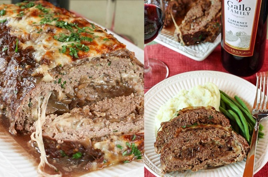 French-Onion Meatloaf